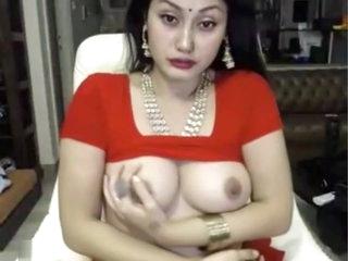 indian tart masturbates more saree ohmibod lovense