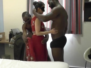 Indian Milf Gets Several BBC With reference to Command Forth