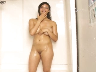Indian Pulchritude Shanaya Close by Shower With reference to Racy Interior