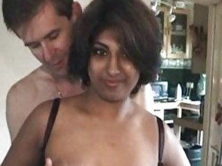 Indian housewife fucked wits four namby-pamby men