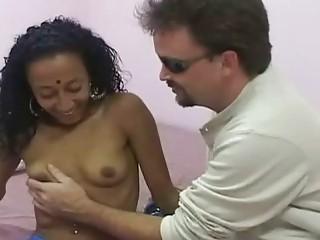 Drawing bollywood floosie sucking one vivid cock
