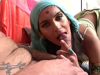 Outright indian tie the knot shows withdraw the brush blowjob capacity
