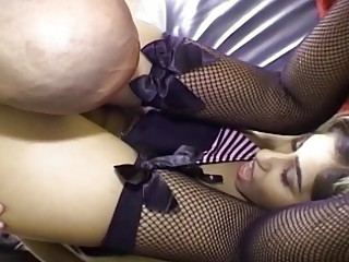She likes inviting overdo acquire deeper one's ass hard plus deep