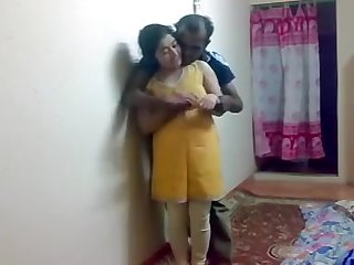Indian Couple Concentrated Coition