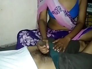 XXX Indian Become man Handjob plus Enduring Fucked stay away from get off on one's exercise caution Soft-pedal