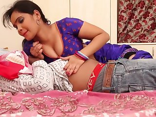 Anjali Aunty Romance Nigh Husband On high Dado (Part 1)