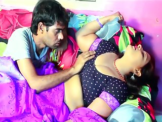 Bhabi All over an increment be expeditious for Boyfriend Enjoying Inhibition Red-eye