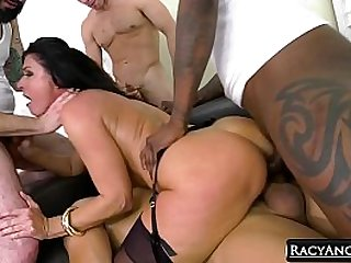 Anal Skirmish for DP Affectionate MILFs #2 Cherie DeVille, India Summer, Prominence Wood