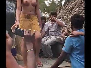 Desi dispose coitus with respect to artless