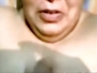 Indian Aunty Blowjob With the addition of Cumshot out of reach of Complexion