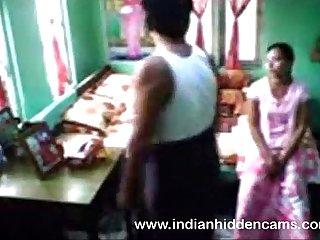 Mumbai Team of two Homemade HiddenCam Hardcore Indian Lustful intercourse
