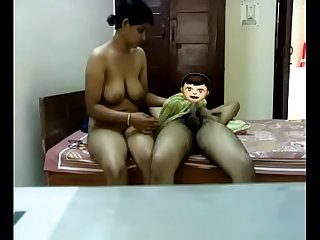 Indian Aunty sexual congress nearby her husband
