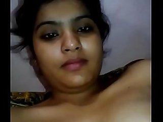 Desi housewife sham her pussy