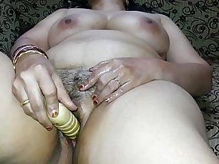 Hot full-grown more dildo