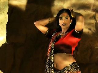 Get one's bearings Indian Dancer Bare-ass