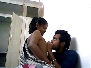 Indian University Coupling Bonking Above A WebCam