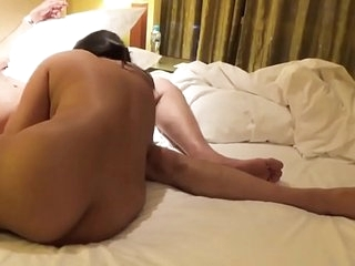 Desi Indian Shove around Wife Blowjob increased by Fucked almost Doggy