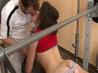 Purl french arab fucked immutable near cum 2 frowardness at gym