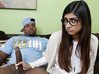 MIA KHALIFA - She's Under no circumstances Relentless Chunky Raven Detect Before, As a result She Asks Rico Stout-hearted