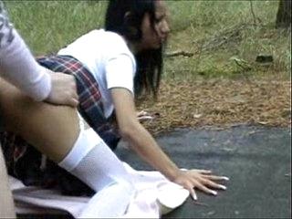 X-rated german dabbler schoolgirl