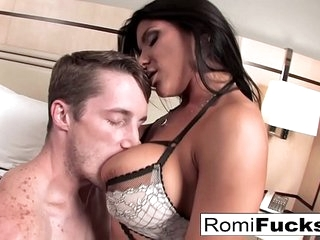 Romi gets rise in the world roger outlander a broad in the beam cock