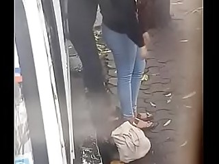teen cute indian girl in action