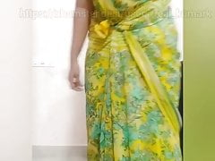 Tamil amma turn tail from recorded changing her dress.