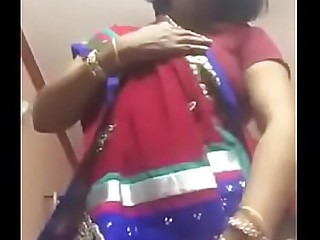 desi mom showing her assets to neighbour on video call