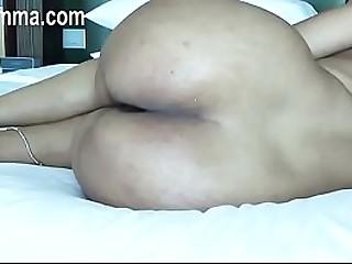 Indian girl strips in bedroom