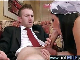 Big Cock Fill Perfect In Wet Pussy Of Mature Lady (india summer) video-17