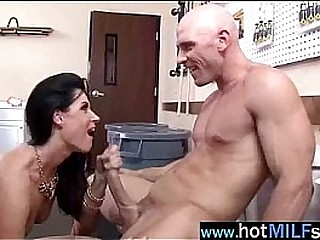 Big Hard Dick For Cock Sucker Horny Mature Lady (india summer) clip-16