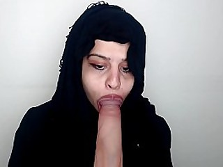 This INDIAN bitch loves to swallow a big, hard cock.Long tongue is amazing.