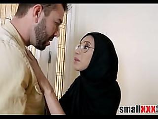 Cute hijab girl penetrated