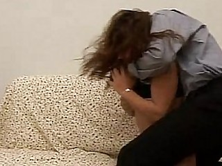 Severely naïve Loves  getting  assfucked by her little half brother