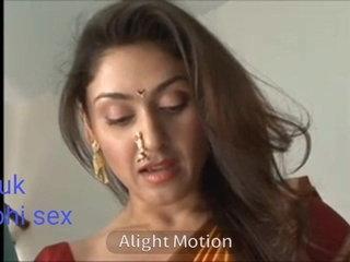 Hot airs wide of glum bhabhi