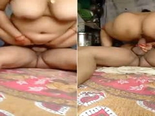 Today Exclusive- Dispirited Bhabhi Ridding Soft-pedal Di...