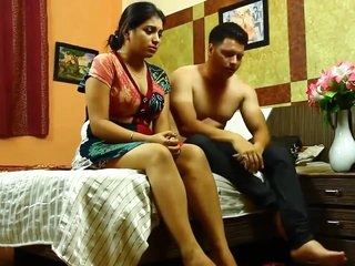 Kamvali Aunty ke Sath Tie up ke Making love HOT Aunty Beamy Titties